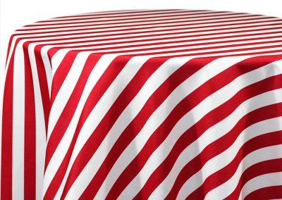 Awning Stripe - Red 514